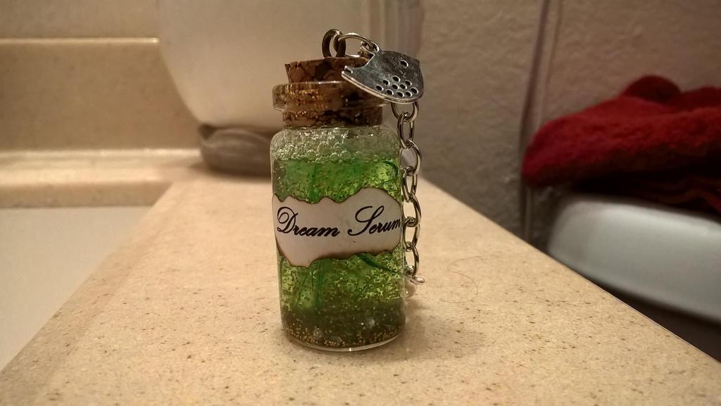 Bottle Charm: Dream Serum by YinYangHeart