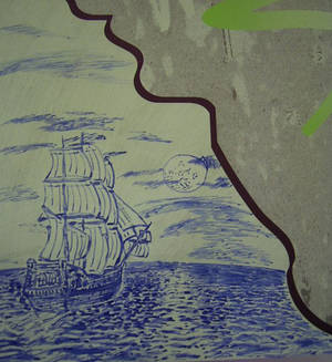 sailing ship sketch
