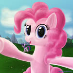 Pinkie Pie sees you
