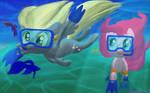 Happy Derpy Underwater Magics