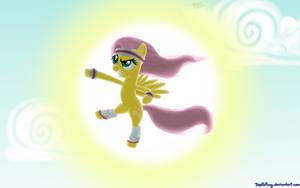 My Favourtite Pony WeLoveFine contest: Fluttersome by DeathPwny