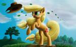 Windy Mane Applejack
