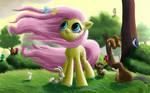 Windy Mane Fluttershy
