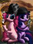 Pinkie Powns and Dr. Sparkle