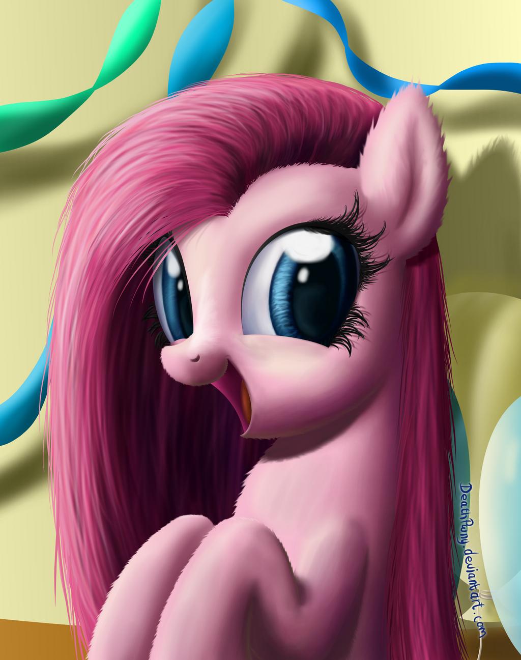Pinkie Portrait by DeathPwny