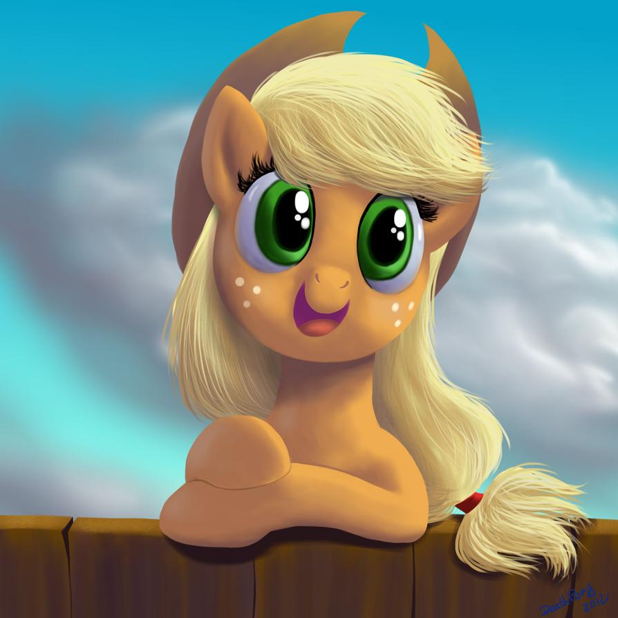 Applejack by DeathPwny