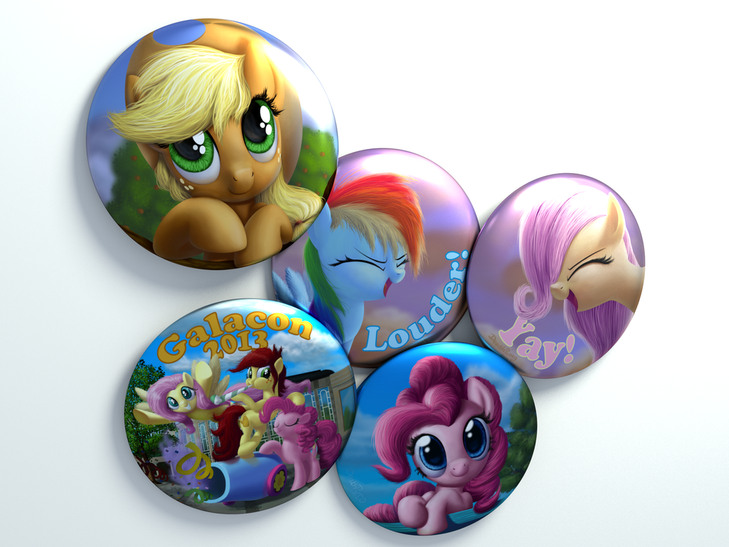 GalaCon Buttons (reappled) by DeathPwny