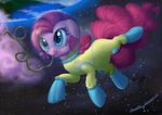 Pinkie *dramatic voice* IN SPAAAACE