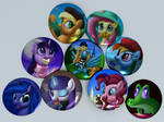 BronyDays Buttons