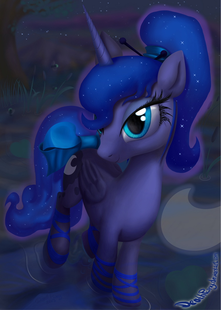 Princess Horse of the Night by DeathPwny