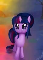 Twilight Horse by DeathPwny