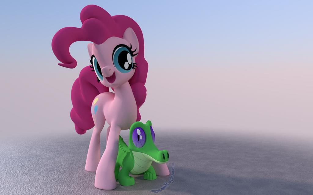 Gummy the Alligator by DeathPwny