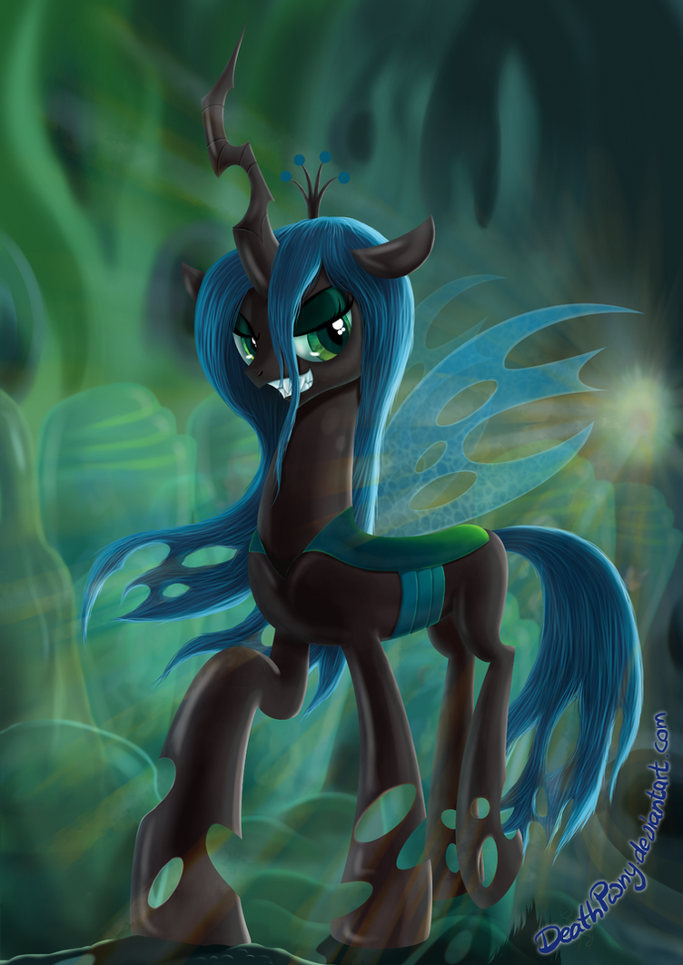 Bug Horse by DeathPwny