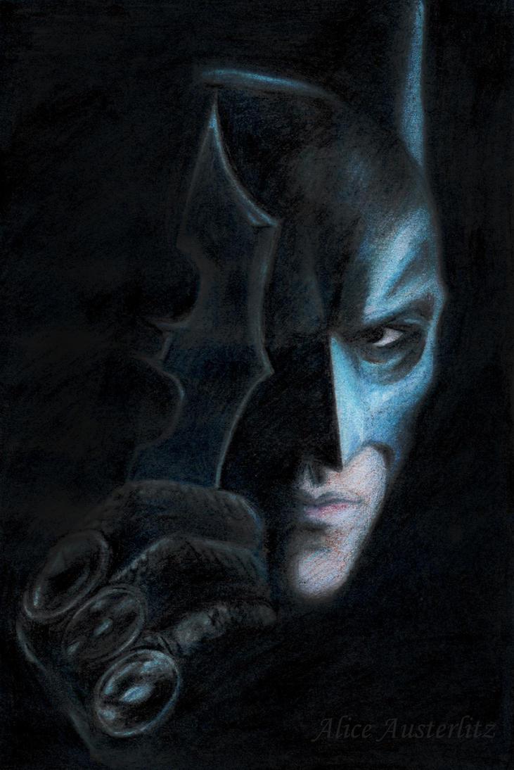 Batman the Dark knight by Mad-Hatter----X