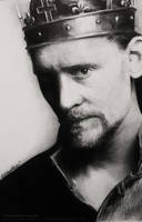 BALLPOINT Tom Hiddleston Drawing Hollow Crown by Bubblegum-Jellybean