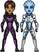 Mass Effect N7 Crew by HenshinDaisuke