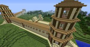 Minecraft Watchtower Walls