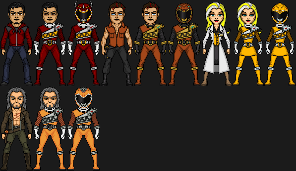 Zyuden Sentai Kyoryuger OC: Additional Rangers by ...