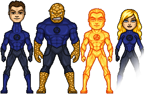Spider-Man and his Amazing Friends: Fantastic Four by HenshinDaisuke