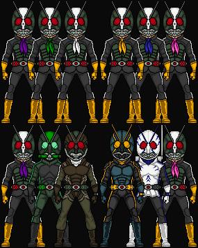 Kamen Rider Shocker Riders by HenshinDaisuke on DeviantArt