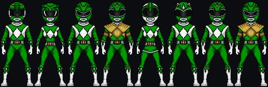 MMPR Green Powers by HenshinDaisuke