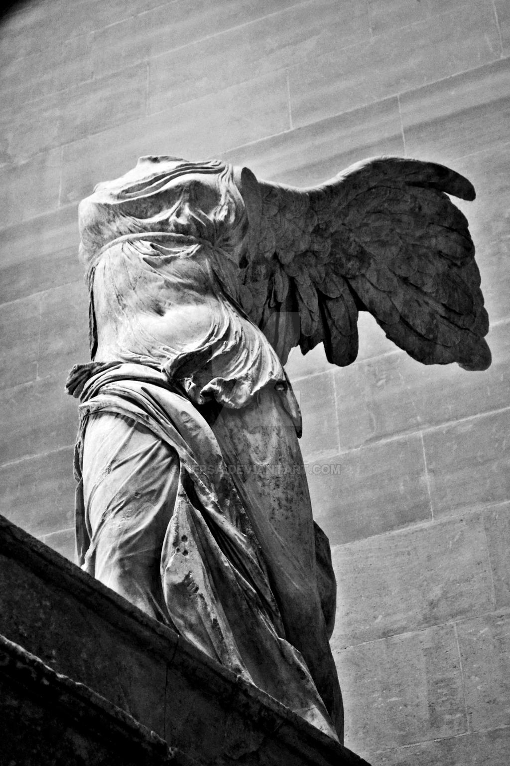 Nike of Samothrace by Nepsa on DeviantArt Nike Of Samothrace