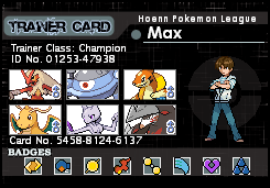Trainer Card by MaxCheng95