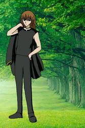 Hideo Shinkai - School Uniform by Kase-dog