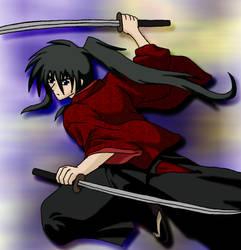 Motoshi - Samurai Style by Kase-dog