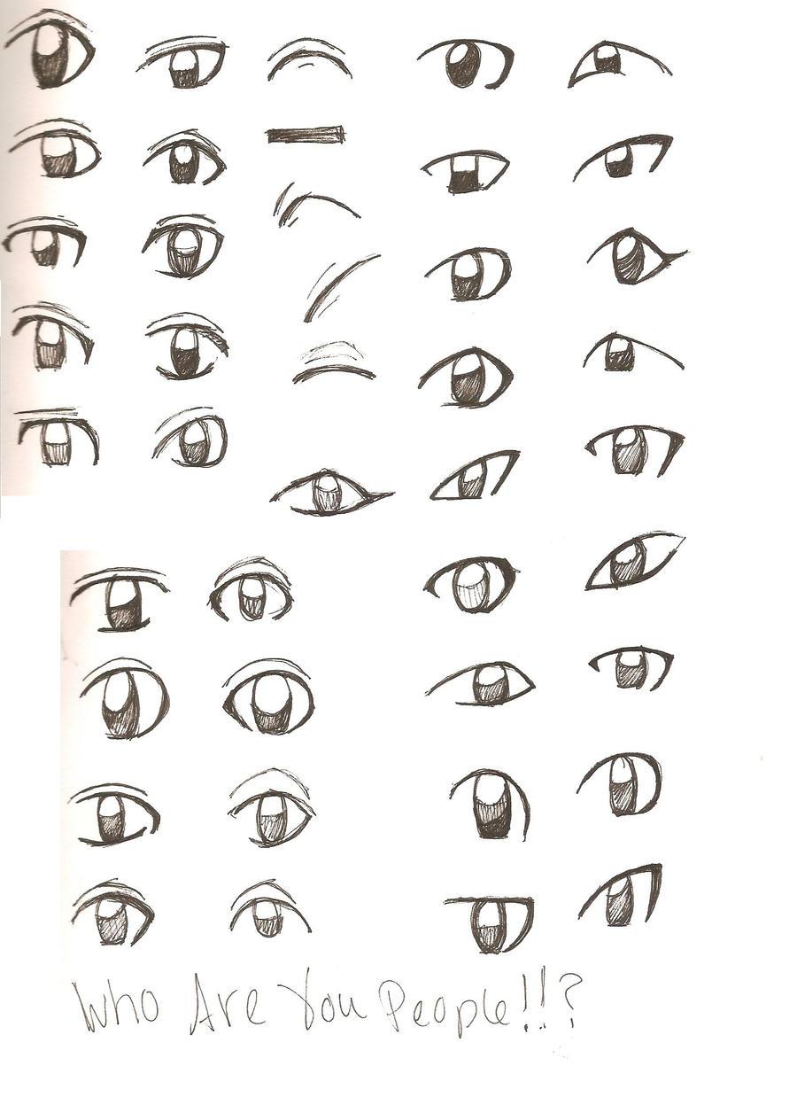 Anime Eyes By Beikokujin On DeviantArt