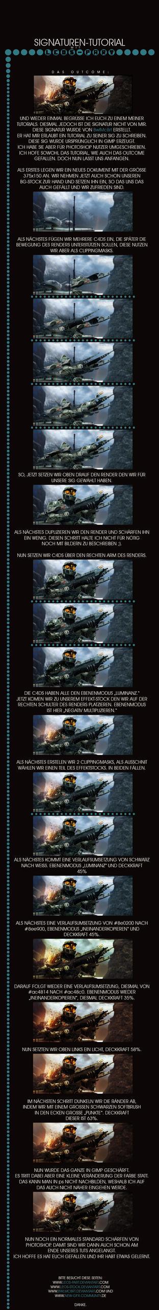 Halo Signature Tutorial by LEOs-stock
