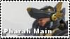 I Main Pharah - Stamp by FalloutFoxDraws