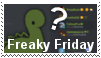 Freaky Friday - stamp by FalloutFoxDraws