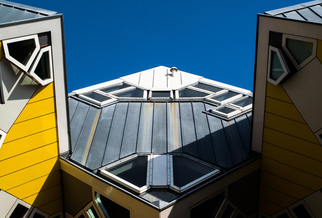 Cube Houses Rotterdam by Nitorom