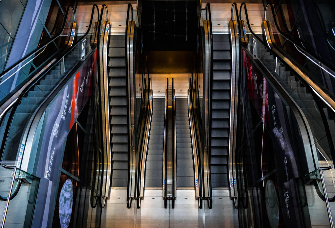 Escalators by Nitorom