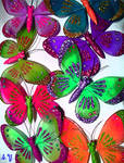 YES More Butterflies by PridesCrossing