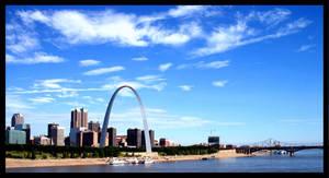 St.Louis From A Bridge