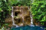 Man made Waterfall 1 stock