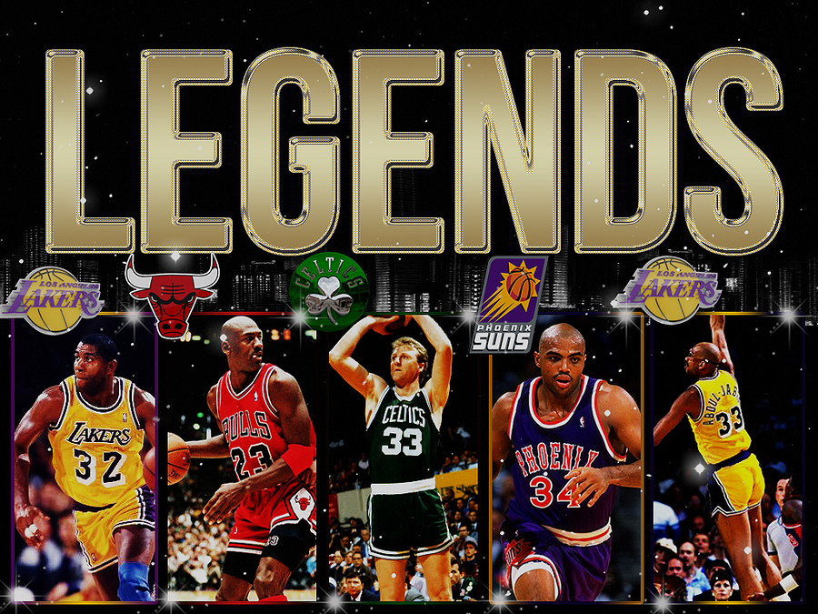 Nba Legends Wallpaper: Nba Legends Wallpaper By GrafikaTR On DeviantArt