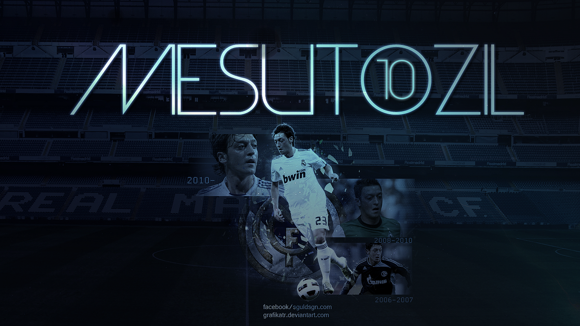 Mesut Ozil Wallpaper By GrafikaTR On DeviantArt