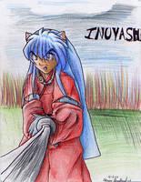 Inuyasha and the Tetseiga