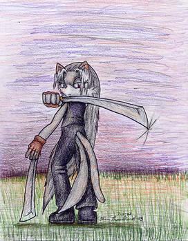 Vandale With Sword
