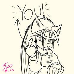 F you by dark--hedgehog