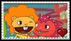 .:request:. DBxFlaky Stamp by schwarzekatze4