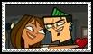 TDA DuncanxCourtney Stamp by schwarzekatze4