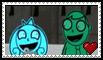 MarvinxCharlotte Stamp by schwarzekatze4