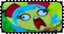 Epic frida face plz stamp by schwarzekatze4