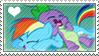 RainbowSpike Stamp by schwarzekatze4