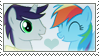 .:request:. RainbowScript Stamp by schwarzekatze4