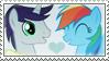 .:request:. RainbowScript Stamp by schwarzekatze4